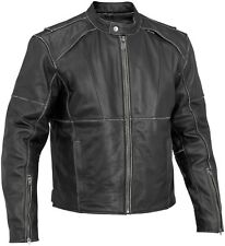 River Road Rambler Classic Street Riding Leather Motorcycle Jacket