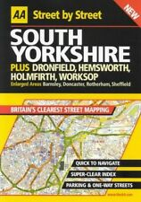 AA Street by Street Yorkshire, South, AA Publishing 0749527633