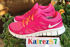 Nike WMNS Pink Orange Womens Running Shoes Sneakers WMNS  SZ 6- 6,5
