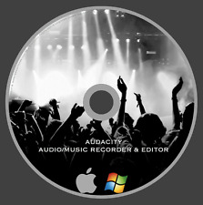 Audacity Multi-Track Audio Recording & Editing Software - Fast Shipping!