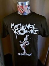 NEW MY CHEMICAL ROMANCE THE BLACK PARADE MARCHING BAND LEADER BLACK ROCK T SHIRT