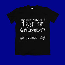 Pink Floyd t shirt - The wall pink floyd- Mother - anti government t shirt