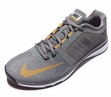 NIKE men's ZOOM SPEED TR3 Training Running SHOES 804401-070 GREY,GOLD size 10