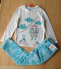 Gymboree Snowflake Glamour SZ 6 New Ski Top Snowflake Pants 2 pcs  SET NWT