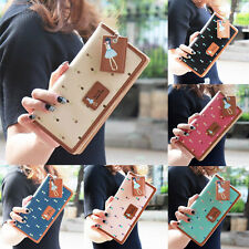 Fashion Women Leather Wallet Lady Long Card Holder Handbag Bag Clutch Purse