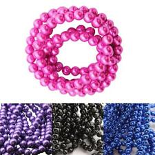 Imitation Pearl Glass Beads Round DIY Necklace/Bracelet Jewelry Accessories