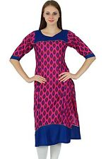 Indian Ethnic Kurti Top Designer Bollywood Kurta Women Causal Tunic Dress