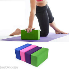 EVA Yoga Block Brick Sports Exercise Fitness Gym Workout Stretching Health tool