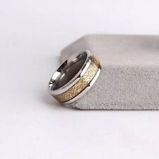 Top Sale Men Dragon Scale Ring Jewelry Wedding Band 18K Gold Size 8 -12