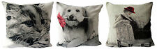 Ex-chainstore Assorted Black & White Themed Woven Tapestry Design Cushion Covers