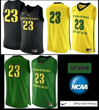 NWT$120 NIKE OREGON DUCKS #23 HyperElite Authentic Basketball Jersey 00033478X23