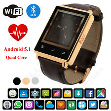 NO.1 D6 GPS WIFI 3G Smart Watch Bluetooth 4 Phone Android 5.1 Quad Core 1GB+8GB