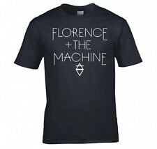 "FLORENCE AND THE MACHINE ""DIAMOND LOGO"" T SHIRT NEW"