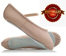 Pink leather Ballet Dance Slipper, shoes, flats Child & Young Adult