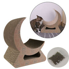 Kitten Cat Scratch Play Corrugated Cardboard Mat Pad Catnip Bed Mill Claw Toy