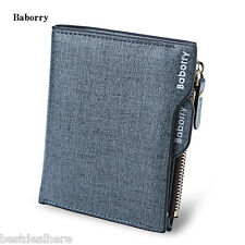 Mens Wallet Baborry Stylish Men Business Wallet Detachable Card Photo Holder new