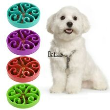 Pet Dog Cat Puppy Food Dish Bowl Supply Bottle Feeder Slow Feed Bloat Stop Bowl