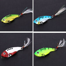 Spinner Fishing Lure Spoon Metal Hard Bass Trout Fishing Tackle Lure Baits 4pcs