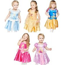 Official Disney Princess Baby Toddler Fancy Dress Costumes Outfits 3-24 months
