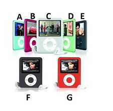 Slim 8GB MP3 1.8'' LCD Media Video Game Movie Radio FM MP4 Player Record