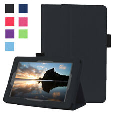 Soft Slim Leather Folio Smart Stand Cover Case For Amazon Kindle Fire 7 8 10 HD