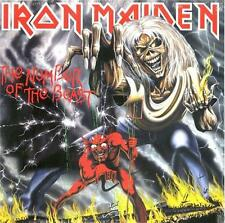 """LP IRON MAIDEN """"THE NUMBER OF THE BEAST - LP"""". NEU"""