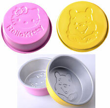 Winnie the Pooh Hello Kitty Baking Cake Chocolate Mold Mould Maker Baking Pan