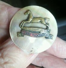 West Yorkshire Regiment Mother of Pearl badge