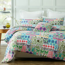 3 Pce Peillon Paisley Quilt Doona Duvet Cover Set by Phase 2 - QUEEN KING
