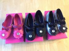 NWT Rampagne Girls Sparkle Mary Jane Shoes Flats toddler Girls 7 8 10