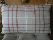 BRAND NEW Laura Ashley KEYNES CRANBERRY check 20