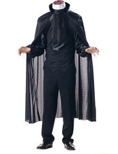 Mens Headless Ghost Scary Halloween Horror Party Fancy Dress Costume