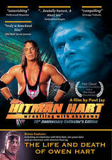 Hitman Hart: Wrestling With Shadows (DVD, 2009, 2-Disc Set) *READ DETAILS*
