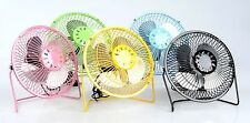 Mini USB Desk Cooler Cooling Fan Multicolor Metal Construction Jumbo HOME OFFICE
