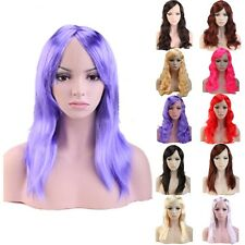 Carnival Cosplay Party Long Straight Wavy Curly Cheap Synthetic Hair Wig Bangs