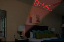 Multi-function Digital LCD Talking LED Projection Alarm Clock Temperature Gift