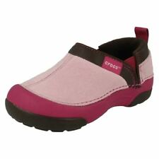 INf - JNR Girls Crocs Casual Slip On Shoes Cunning Carmeron Kids