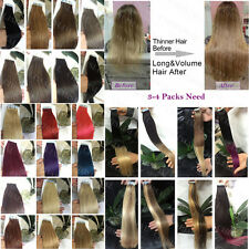 """Seamless Tape In pu Omber 100% Remy Human Hair Extensions 16""""18""""20""""22"""""""
