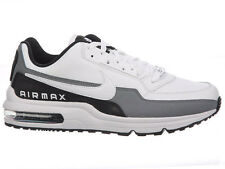 NEW MENS NIKE AIR MAX LTD 3 TRAINERS CASUAL SHOES WHITE / BLACK / COOL GREY / WH