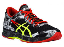 NEW MENS ASICS GEL-NOOSA TRI 11 RUNNING SHOES TRAINERS BLACK / FLASH YELLOW / OR