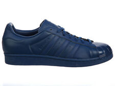 NEW WOMENS ADIDAS ORIGINALS SUPERSTAR CASUAL SHOES TRAINERS UTILITY BLUE / UTILI
