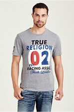 True Religion Mens TR Graphic Racing Short Sleeve T Shirt  Save 50%!! XXXL  3XL