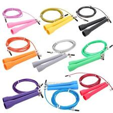 Adjustable Jump Rope Fitness Exercise Speed Wire Skipping Equipment Cardio Sport