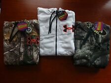 Under Armour Men's ColdGear Infrared Scent Control Caliber Camo Hoodie NWT