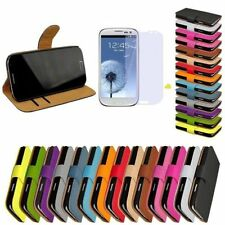 Samsung Galaxy S3 Cases Flip Case Cell Phone Bag Cover Wallet GT-i9300
