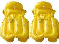3 Colors Baby Float Swimming Aid Life Jacket Inflatable Swim Beach Vest New