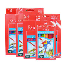 Faber Castell 12/24/36/48 Colors Assorted Water-Soluble Color  Pencil