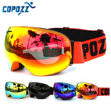 Copozz Skiing Snowboard Goggles Double Lens Anti-fog UV Winter Snow Ski Goggles