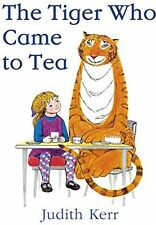 The Tiger Who Came To Tea - Judith Kerr | PAPERBACK | FAST DELIVERY