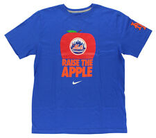 Nike Mens New York Mets MLB Local Tshirt Blue